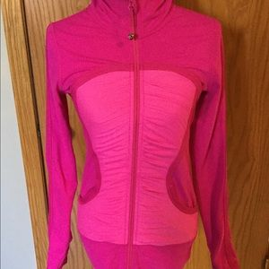 Lululemon women pink athletic jacket size 6